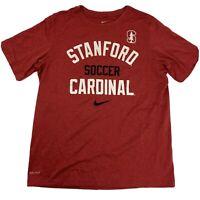 Stanford Soccer Cardinal Women's Nike T-Shirt Size XL
