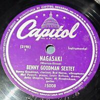 Benny Goodman Sextet: Nagasaki / Gonna Get A Girl: Capitol Records 1947 (Jazz)