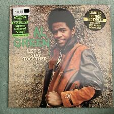 Al Green Let's Stay Together OOP Newbury Comics Exclusive Green Vinyl 300