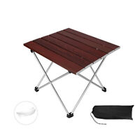 Portable Folding Camping Table Aluminum Alloy Picnic Party Outdoor Garden BBQ