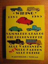 Wiking Auto 1985 Sammlerkatalog