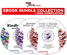 MOST POPULAR EBOOK COLLECTION SET - 3 DISCS FOR KINDLE, IPAD, E-READERS ON DVD
