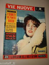 VIE NUOVE=1959/3=ANTONELLA LUALDI POLIKUSKA FILM CARMINE GALLONE=SCICLI GROTTE