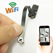 WiFi network Spy wireless IP Nanny Camera Hidden Screw Mini DIY micro DVR record