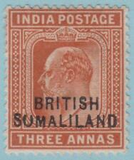 Somaliland 24f Mint Hinged OG * - NO FAULTS VERY FINE ! broken o variety!