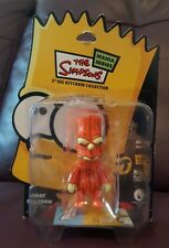 The Simpsons Mania Series Bart Simpson Qee Keychain (Pumpkin) Extremely rare