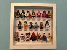 Lego Minifigures Display Case Frame for Lego Batman Movie For Full Complete Set