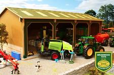 GIOCATTOLI sottobosco arbustivo Basics Open Barn 4 alloggiamenti 1:32 SCALA BBB160