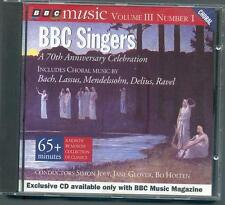 BBC SINGERS 70th ANNIVERSARY CELEBRATION - BACH REGER DELIUS RAVEL STANFORD ETC