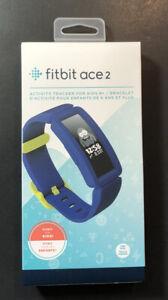 Fitbit Ace 2 [ Noche Cielo +Nero Amarillo ] Nuevo
