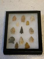 Vintage Arrowhead Collection; Native American Indian; Qty 13; Lot #7