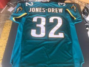 100% Reebok Authentic NFL Jersey Jacksonville Jaguars Maurice Jones Drew size 52