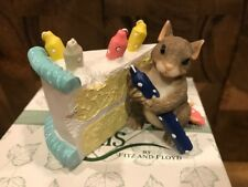 Dean Griff Charming Tails - How Many Candles? 89/713 In Box Birthday Cake