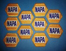 10 Lot Vintage NAPA Racing NASCAR Hat Jacket Racing Patches Michael Waltrip C