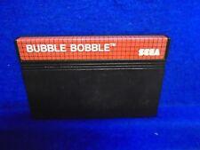 **Sega Master System BUBBLE BOBBLE Game Cartridge Cart RARE Arcade PAL