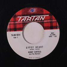 BOBBY CURTOLA: Gypsy Heart / I'm Sorry 45 (Canada, #ol) Oldies