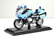 BMW R 1200 RT Polizei Italien Maßstab 1:18 Motorradmodell von Maisto