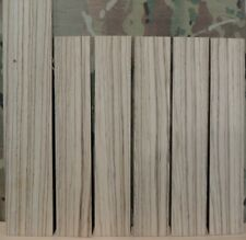 """6 Thin Zebrawood Boards-1/8"""" thick-lumber/wood/crafts/ veneer/inlay/scrollsaw"""