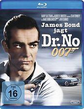 JAMES BOND JAGT DR. NO (Sean Connery, Ursula Andress) Blu-ray Disc NEU+OVP