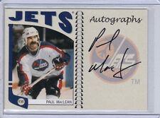 2004-05 ITG Franchises Canadian Autograph #A-PML Paul MacLean - Jets