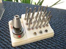 Piccole, completa giocano strumento, orologiai tornio in ottime condizioni