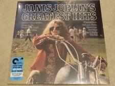 Janis Joplin Greatest Hits Pink & Blue Splatter Vinyl LP Mp3 Black Friday