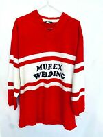 Red And White Gloucester Rugby Jersey Murex Engineering Bukta Made In England