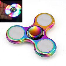 LED Hand Spinner Finger Fidget Spinner Torqbar ADHS EDC Anti Stress Licht Toy DE
