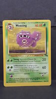 Weezing 45 Fossil Set Uncommon Pokemon Card Near Mint
