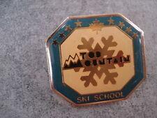 INSIGNE SKI SCHOOL SPORT TOP MOUNTAIN CANADA ECOLE SKI