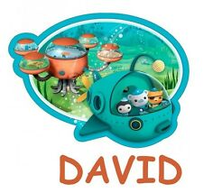 ****OCTONAUTS** PERSONALIZED****FABRIC/T-SHIRT IRON ON TRANSFER