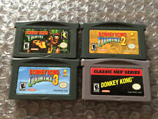 Donkey Kong Country 1+2+3 +NES Classic Series (Game Boy Advance, GBA) Authentic