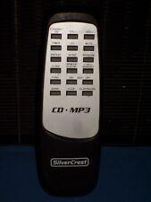 """TELECOMMANDE lecteur CD - MP3 marque """" SILVERCREST """", 15cms"""