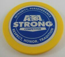 Ata Strong Competitor Gold Coin Token Chip Martial Arts Karate Competition