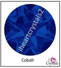 COBALT BLUE 20ss 5mm 12 pieces SWAROVSKI Crystal Flatback Rhinestones 2088