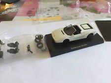 Miniatures 1/64 Kyosho Ferrari Testarossa Spider Blanche