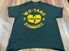 Wu-Tang Clan Men's Black T-Shirt - XL - Extra Large