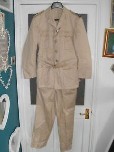 WW2 POST WAR RAF  TROPICAL KD JACKET & TROUSERS IN GOOD CONDITION