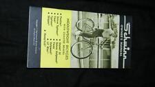 VINTAGE 1968 SCHWINN BICYCLE MANUAL MIDDLEWEIGHT BICYCLES COASTER BRAKES VG