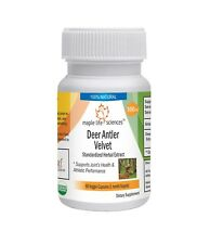 Deer Antler Velvet 20:1 Extract Capsules Supports Athletic performance
