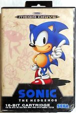 SEGA MEGA DRIVE SONIC ON 16-BIT CARTRIDGE VINTAGE GAME RETRO