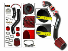 Cold Air Intake Kit MATT BLACK + RED Filter For 03-06 350Z 3.5 V6 Z33 Fairlady