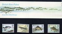 GB 1983 BRITISH RIVER FISHES PRESENTATION PACK NO 142