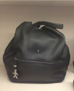 Henry Beguelin Black Leather Tote Bag. With Dust Bag RRP: $1600.00