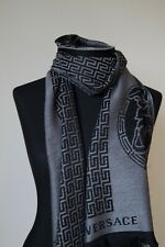 NEW GENUINE  VERSACE WOOL SCARF  MADE IN ITALY Unisex   Gift  FABULOUS