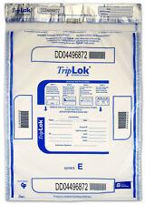 15x20 TripLok, clear w/ pocket, 50 deposit bags
