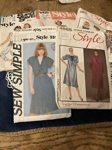Five Vintage Sewing Patterns From Style