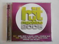 HIT MACHINE 2005 ( 2 CD ) : MA PHILOSOPHIE (AMEL BENT) [CD ALBUM] ~ PORT GRATUIT