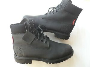 TIMBERLAND HERITAGE 6 INCH WINTER BOOTS IN BLACK HELCOR-SZ 8.5 UK/43 EU/9 US