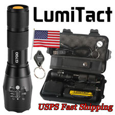 20000lm Genuine Lumitact G700 L2 LED Tactical Flashlight Military Grade Torch